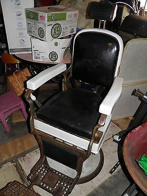 koken barber chair 1920's