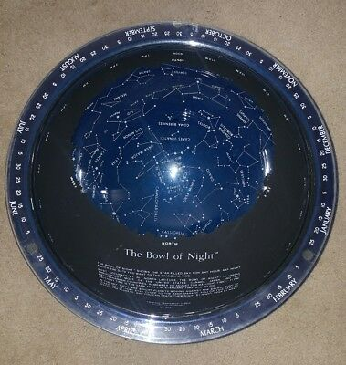 Vintage Bowl Of Night North Sky Astronomy Globe
