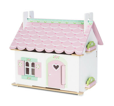 Le Toy Van Lily's Cottage (With Furniture) LEH111 NEW
