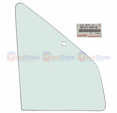 GENUINE Quarter 1/4 Vent Window Glass Right for Hilux Dual Cab 1989 to 1998