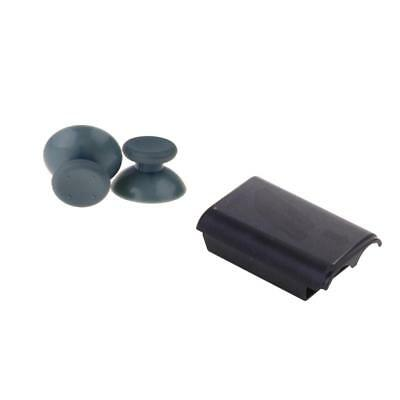 2x Analog Thumbsticks Cap + Battery Cover Door pour Xbox 360 Game Controller