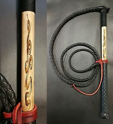 6ft RedHide Stock Whip, Free post, Free cracker twine