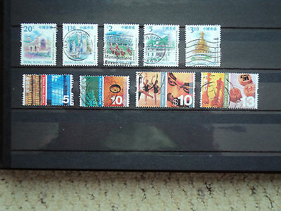 Hong Kong Stamps selection