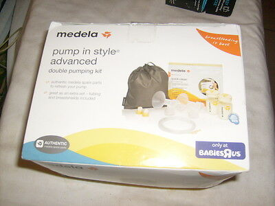 Medela Pump in Style Advanced Double Pumping Kit #87251 NEW free ship