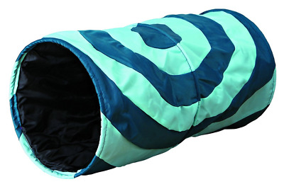 Trixie Polyester Colourful Playing Tunnel for Cat, 50 x 25 cm Diameter