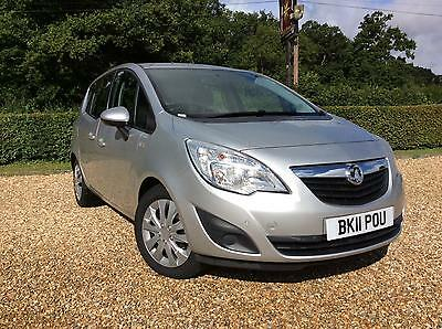 vauxhall opel meriva 1 6 automatic 5 door hatch 3 picclick uk. Black Bedroom Furniture Sets. Home Design Ideas