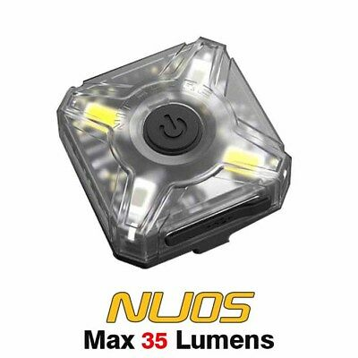 NiteCore NU05 LED Red & White LED USB Rechargeable Headlamp Headlight - Single