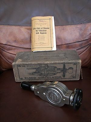 Boxed Dr Macaura's Vintage Blood Circulation Machine