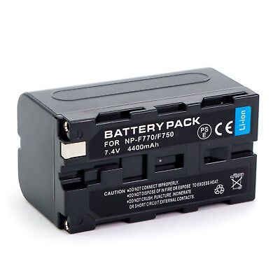 NP-F730/NP-F750/NP-F770 battery for Sony camera camcorder NPF730 NPF750 NPF770