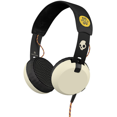 Skullcandy Grind On-Ear Lightweight Headphones with Taptech Remote for Music Pla