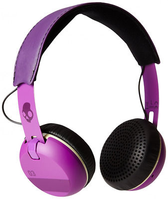 Skullcandy Ill Famed Grind Wired On-Ear Headphone with Taptech Playback Remote -