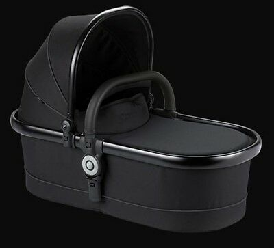 ICandy Peach3 Main Carrycot - Jet Black - Designer Collection-