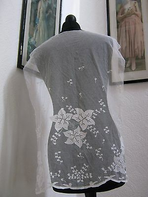 Very Beautiful Antique Vintage Lace Panel - Bridal, Christenings, Crafts etc