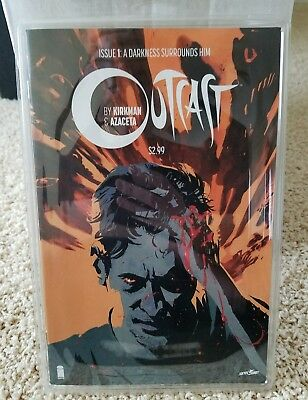 OUTCAST # 1 COMIC BOOK ISSUE # 1 By KIRKMAN AND AZECETA  NEAR MINT FIRST PRINT