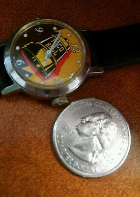 Taco Bell stainless steel collectable wristwatch.
