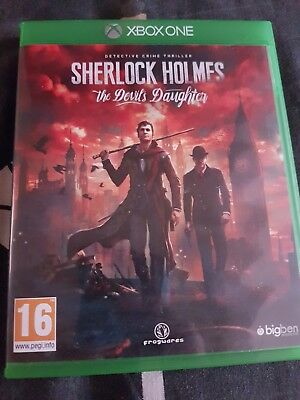 Sherlock holmes the devils daughter xbox one