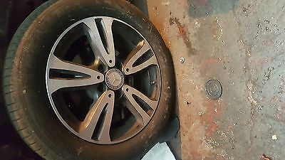 Mercedes A180 2016 W176 Alloy Wheels With Tyres X 4