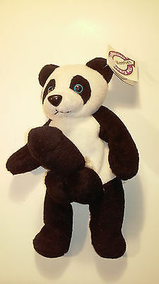 Ding A Ling Ling PANDA Bear Weenies Beanie Adult Plush Toy ~NEW GAG GIFT Figure