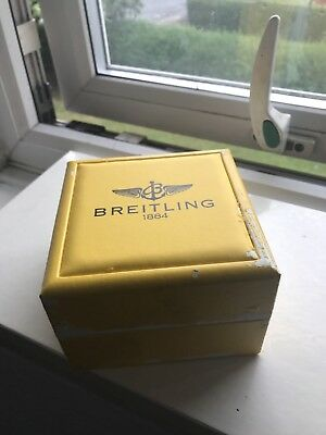 Breitling Vintage Watch Box With Cushion