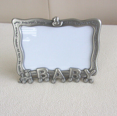 "Malden ""baby"" 4"" X 6"" Photo  Frame * Train Theme* Really Cute ,mint Condition!"