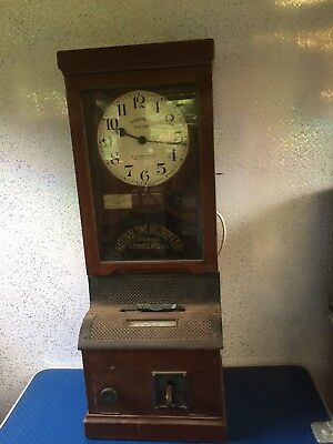 National Time Recorder Co Ltd Clocking In Clock / Machine - Electrical Working.