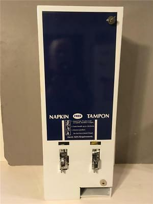 Dual No 1 Vending Sanitary Napkin And Tampax Machine Vends For Free New In Box