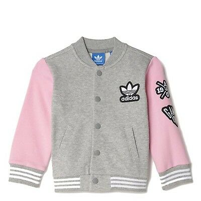 Adidas Originals Infant Baby Girls Jacket