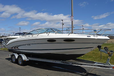 Mechanics Special 1997 Sea Ray 230 with Trailer