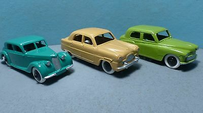 Dinky Toys Job Lot Riley, Hillman Minx & Ford Zephyr.