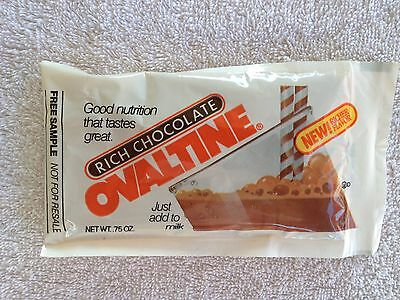 Ovaltine Packet cereal premium from 1980's