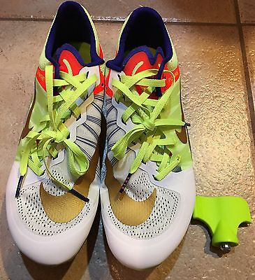 NEW RARE Nike Zoom Ja Fly 2 Track & Field Penn Relays spikes shoes Mens size 8