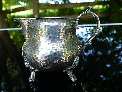 early 19thc antique french silver hallmark creamer pierre queille 1834-1846