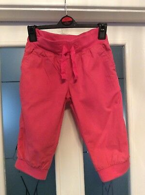 Next Girls Cropped Trousers Age 7-8 Height 128cm