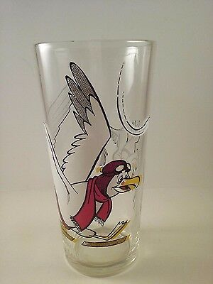 """VINTAGE! 1977 Pepsi """"The Rescuers"""" Collector Series Glass-Orville"""