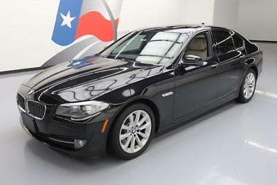 2012 BMW 5-Series Base Sedan 4-Door 2012 BMW 528I SEDAN TURBO SUNROOF NAV REAR CAM 67K MI #Y30137 Texas Direct Auto
