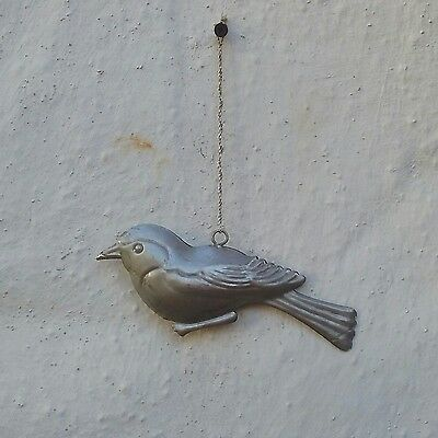 Vintage Aluminium Sparrow Bird Wall Tree Decor Hang
