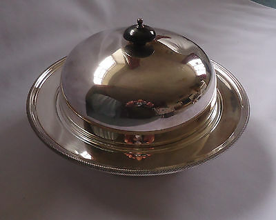 Silver Plated 3 piece MUFFIN DISH