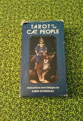 Pre-Owned ~ Tarot Of The Cat People ~ Cards Deck ~ Divination ~No Instructions