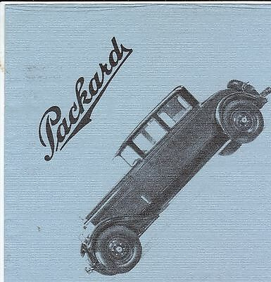 Package Of Packard  Napkins.