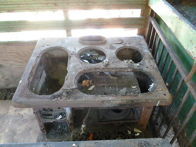 antique stove cast iron