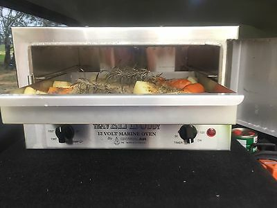 1 X 12 Volt Travel Buddy Oven Stainless Tray - 4Wd, Camping, Marine, Trucks