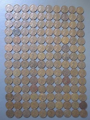 140 Lincoln Wheat Cents Pennies Collection Lot Old Rare 1C Coins 1930's Thirties