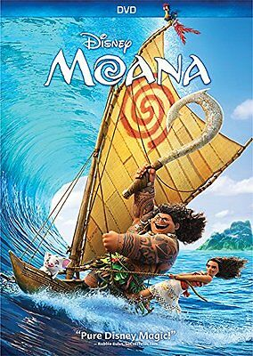 Moana (DVD, 2017) Disney Family Animation New Sealed