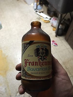 Frankenmuth Glass bottle Empty,  Very Rare. Antique. Rustic