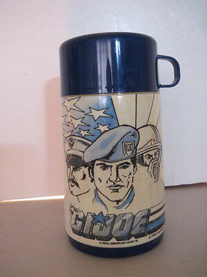 G. I. JOE Plastic Thermos! (1987) Vintage! special missions