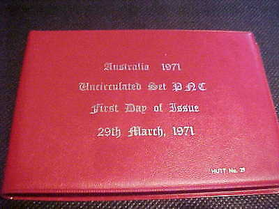 1971 Hutt Commemorative Australia Uncirculated 6Coin Set Mixed Pnc 29 12 Of 120