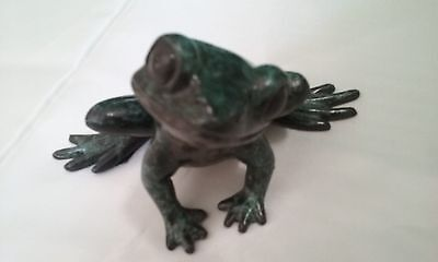 Bronze Frog D Shipston Limited Piece #53 Of 250 Beautiful Detail