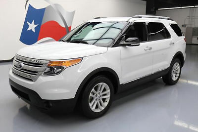 2014 Ford Explorer XLT Sport Utility 4-Door 2014 FORD EXPLORER AWD 7-PASS HTD LEATHER REAR CAM 55K #A12591 Texas Direct Auto
