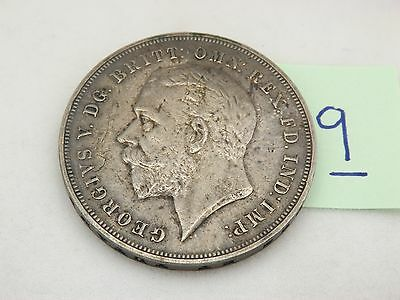 King George V  1935 Great Britain Silver Crown Coin