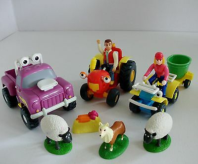 Tractor Tom Bundle with Tractor Tom, Buzz, Rev, Farmer Fi, Matt, Riff & 2 Sheep